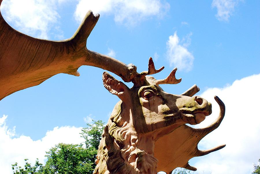 Megaloceros 2008, Crystal Palace Dinosaurs, Crystal Palace Park, London
