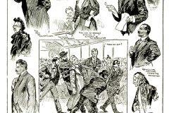 Montage of Courtroom Scenes During Libel Trial
