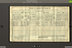 1911 census records for 88 Gower Street