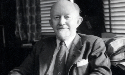 George Gaylord Simpson, 1956 (courtesy American Philosophical Society Library).